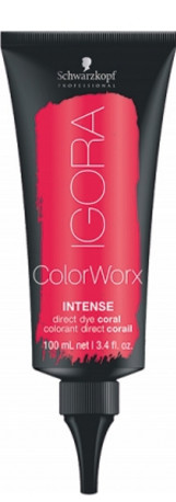 Schwarzkopf Professional Igora Color Worx Intense 100ml, korálová