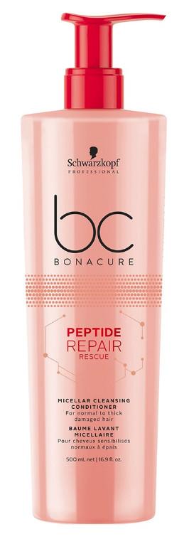 Schwarzkopf Professional BC Bonacure Repair Rescue Peptide Micellar Cleansing Conditioner 500ml