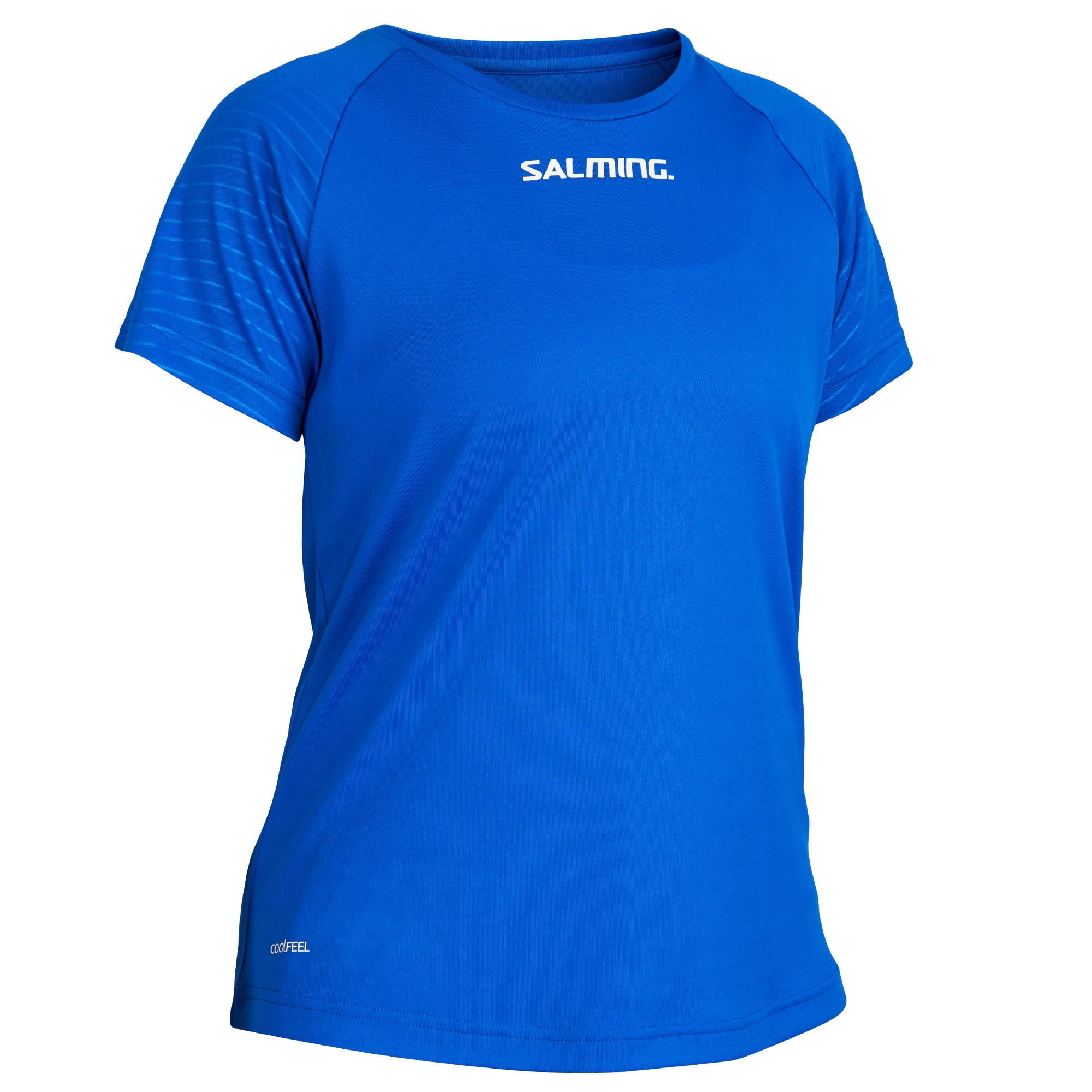 Salming Diamond Game Tee XL, modrá
