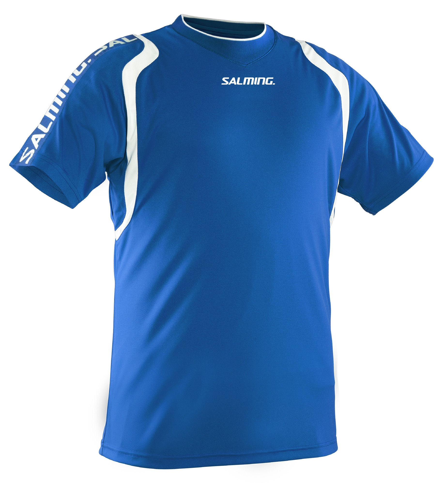 Salming Rex Game Tee SR XL, modrá