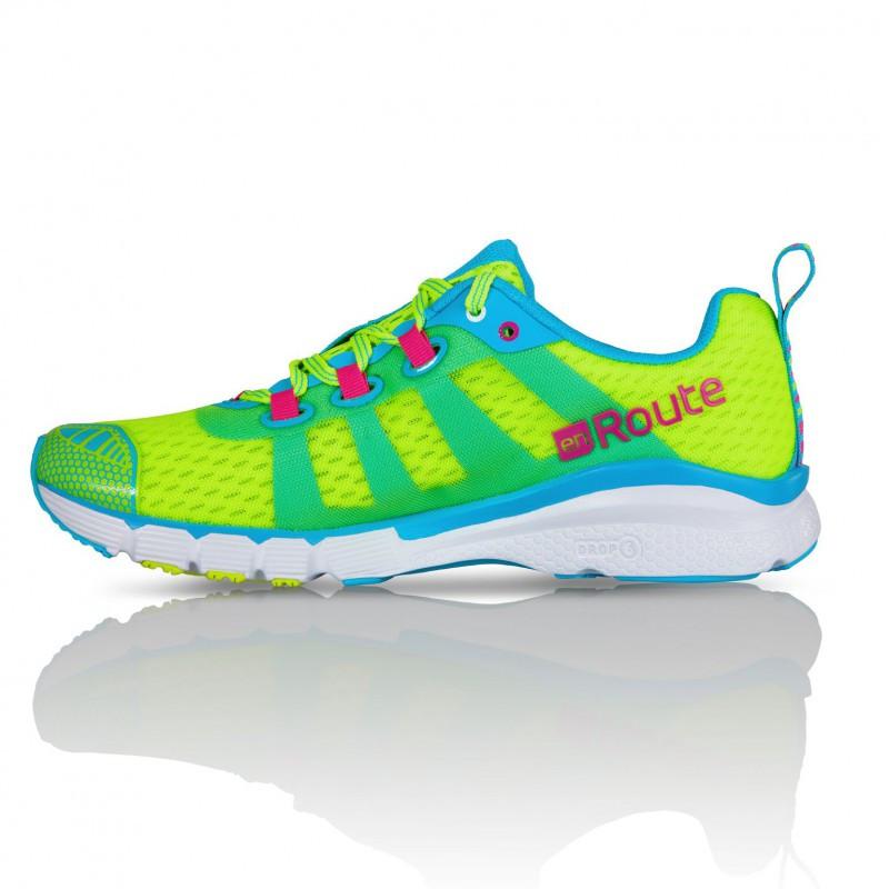 Women Salming Enroute Laufschuhe Shoe Safety Yellow ZPkXiOu