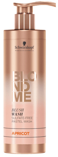 Schwarzkopf Professional BlondME Blush Wash 250ml, meruňková