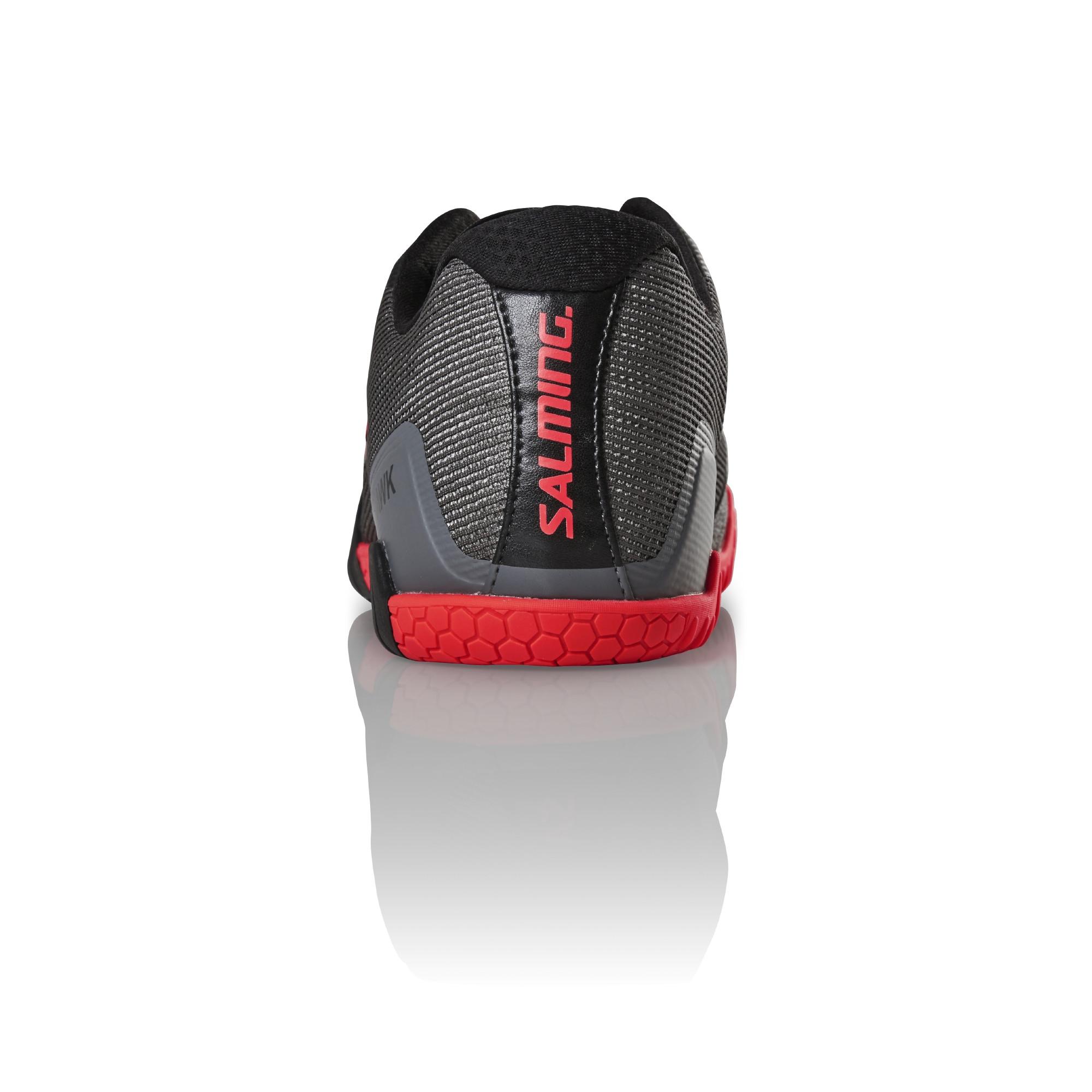 6fcd4834 Salming Hawk Men GunMetal/Red Indoor shoes | efloorball.net