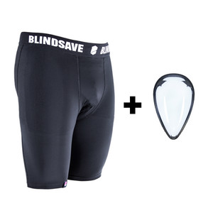 BlindSave Protective shorts with suspensor
