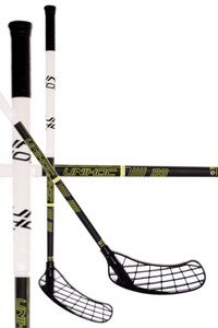 Unihoc Player 26 black/neon yellow Floorball Schläger