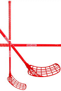 Zone floorball ZUPER AIR 31 all red Floorball stick