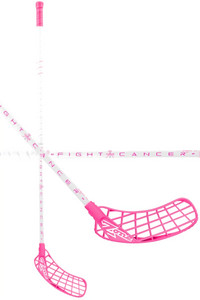 Zone floorball HYPER AIR FIGHT CANCER4 UL 29 white/pink Floorball stick