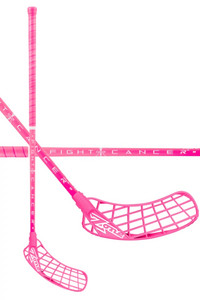 Zone floorball HYPER AIR FIGHT CANCER 4 30 all pink Florbalová hokejka