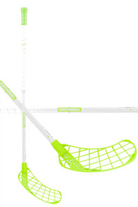 Zone floorball MONSTR AIR Curve 1.5° 31 white//green Floorball Schläger