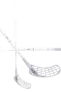 Zone floorball Monstr AIRLIGHT 27 white/silver Florbalová hůl
