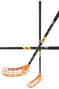 Fat Pipe RAW CONCEPT 27 JAB FH2 Orange Floorball stick
