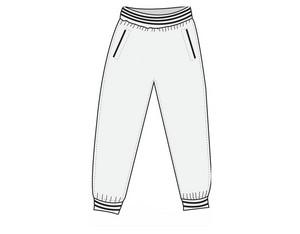FLOORBEE Tuxedo Pants Senior M
