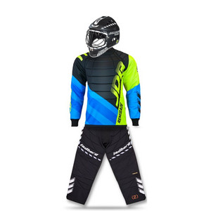 Jadberg Easy 2 set with HELMET Goalkeeper set with helmet