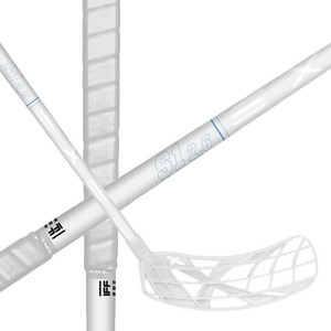 Exel S1 WHITE 2.6 SQUARE 103 CM Floorball stick