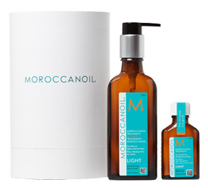 MoroccanOil Home & Travel Duo Light Schwereloses Ölpflegeset