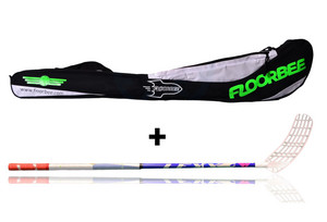 LEXX Timber 2,9 Navy + Stickbag Floorball stick and stickbag - set