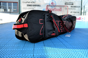 Zone floorball Brilliant Black-Red Edt. Toolbag