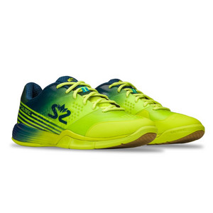 Salming Viper 5 Shoe Men Fluo Green/Navy Halová obuv