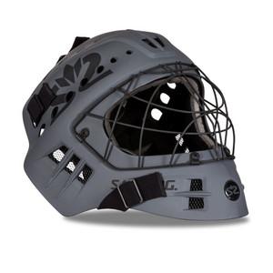 Salming Phoenix Elite Helmet tmavě šedá, Senior - max 58 cm