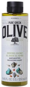 Korres Pure Greek Olive Sea Salt Showergel 250ml