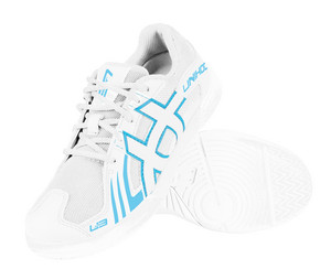 Unihoc Shoe U3 Elite Men white/blue Indoor shoes
