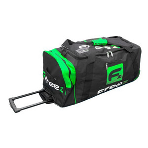 Freez FREEZ Z-180 WHEEL BAG BLACK/GREEN Taška na kolečkách