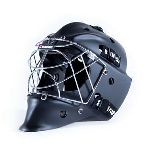 BlindSave Goalie Mask černá - matná, Senior - max 58 cm