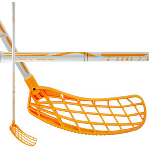 Exel A-GAME WHITE-ORANGE 2.6 ROUND SB Floorball stick