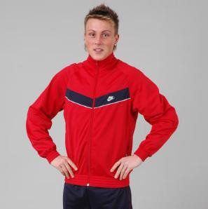 Bunda Nike Buzzard M Červená