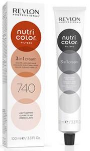Revlon Professional Nutri Color Filters 100ml, 740 light copper