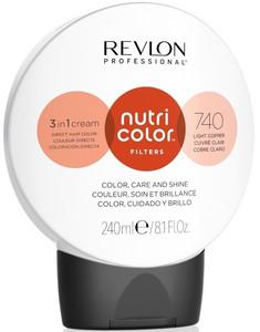Revlon Professional Nutri Color Filters 240ml, 740 light copper