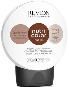 Revlon Professional Nutri Color Filters 240ml, 524 copper pearl brown
