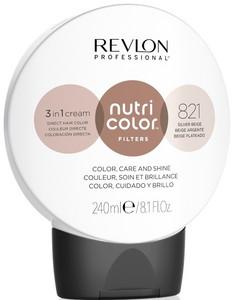 Revlon Professional Nutri Color Filters 240ml, 821 silver beige