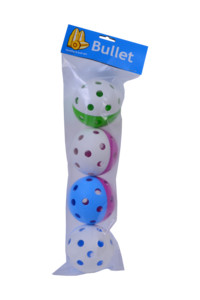 Necy Bullet 4 kusy 4 ks, modrá / růžová