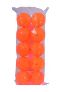 FLOORBEE Torpedo IFF Ballbuffer 10 ks, neonově oranžová
