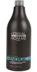 L'Oréal Professionnel Homme Energic Shampoo 750ml