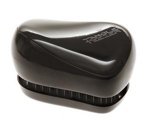 Černý kompaktní kartáč TANGLE TEEZER Compact Styler Black Černá