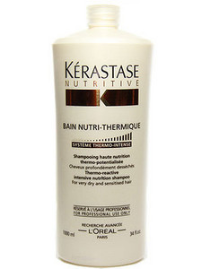 Kérastase Nutritive Bain-Nutri Thermique Thermo-reactive Intensive Nutrition Shampoo 1l