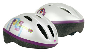 Helma Powerslide Polly Pocket Flower Power Helmet ´12