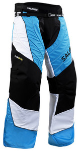 Brankářské kalhoty Salming Cross 2 Face ´13 XL modrá / černá / bílá