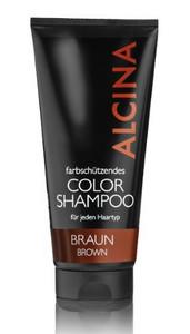 Hnědý barevný šampon ALCINA COLOR SHAMPOO Brown 200ml