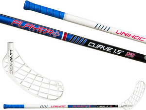 Floorball-Stick Unihoc Player Plus Curve 1.5° 29 ´13