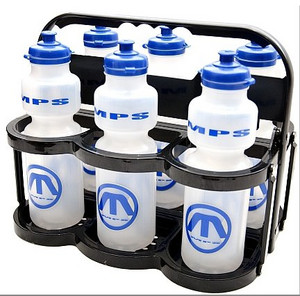 Folding bottle carrier MPS