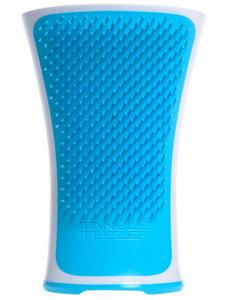 Modrý kartáč na mokré vlasy TANGLE TEEZER Aqua Splash Blue Lagoon Bílo-modrá