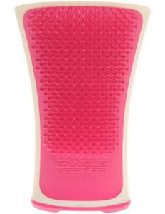 Růžový kartáč na mokré vlasy TANGLE TEEZER Aqua Splash Pink Shrimp Bílo-růžová