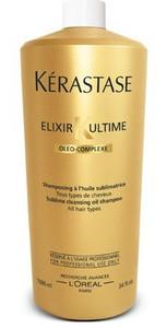Kérastase Elixir Ultime Sublime Cleansing Oil Shampoo 1l