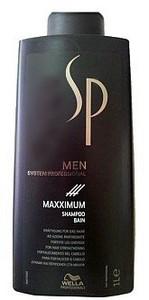 Šampon WELLA SP Men Maxximum Shampoo 1l