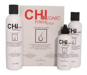 Sada pro přírodní vlasy CHI 44 Ionic Power Plus Normal