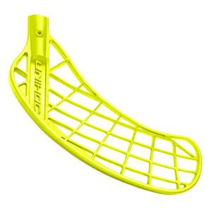 Unihoc Player Střední Levá ruka níže neonová žlutá