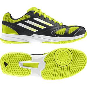 Sálová obuv adidas feather team 2 G96454 UK 12,5   EU 48   31cm žlutá / černá